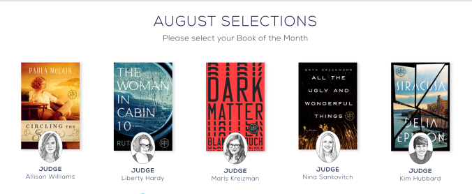 Book of the Month options